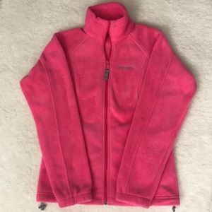 Columbia Fleece Zip Jacket- Sz M